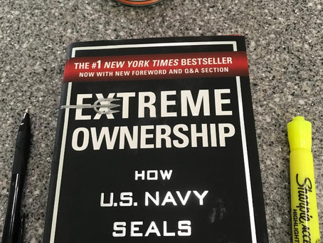 Summer Reading – Extreme Ownership by Jocko Willink and Leif Babin