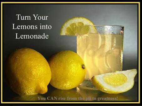 The 2020-2021 school year. Trying to turn lemons into lemonade.