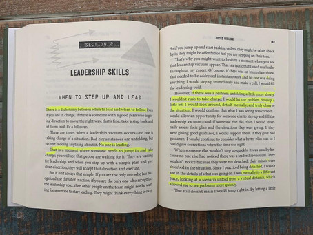 When To Step Up And Lead, pages 182-187