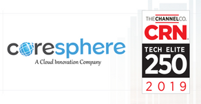 CoreSphere is Named One of the 2019 Tech Elite Solution Providers by CRN®