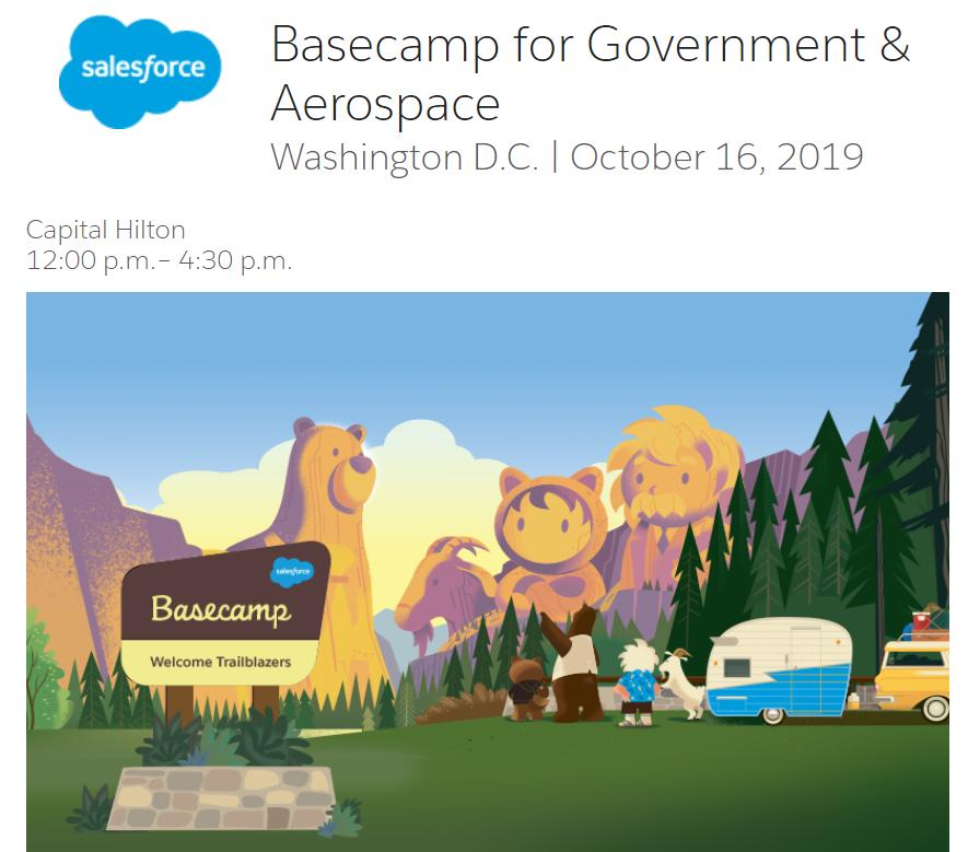 Blaze your trail to Salesforce Basecamp