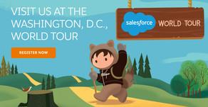 CoreSphere at Salesforce World Tour DC