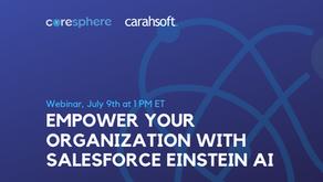 Empower Your Organization with Salesforce Einstein AI  - A CoreSphere Webinar