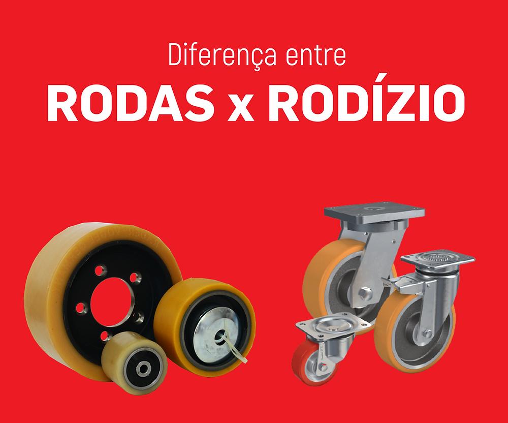 Diferença entre rodas e Rodízio - Räder-Vogel - Empilhadeiras Catarinense
