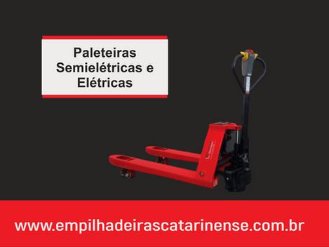 Tudo que você precisa saber sobre paleteiras elétricas e semielétricas