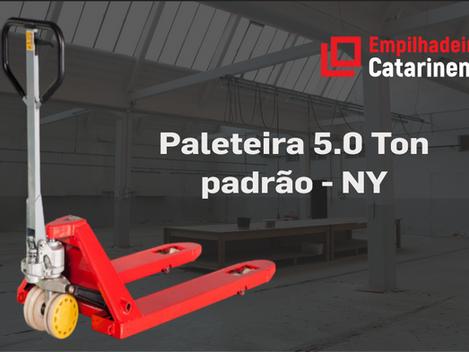 Paleteira manual 5.0 Ton - NY