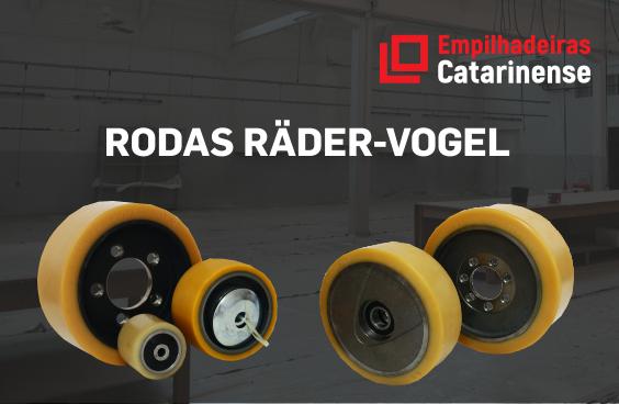 Rodas Räder-Vogel - Empilhadeiras Catarinense - Distribuidora exclusiva das rodas Räder-Vogel no Brasil