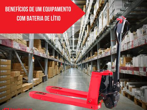 Você sabe quais são os benefícios de um equipamento com bateria de lítio?