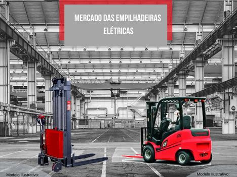 Mercado de empilhadeiras elétricas no Brasil e no mundo