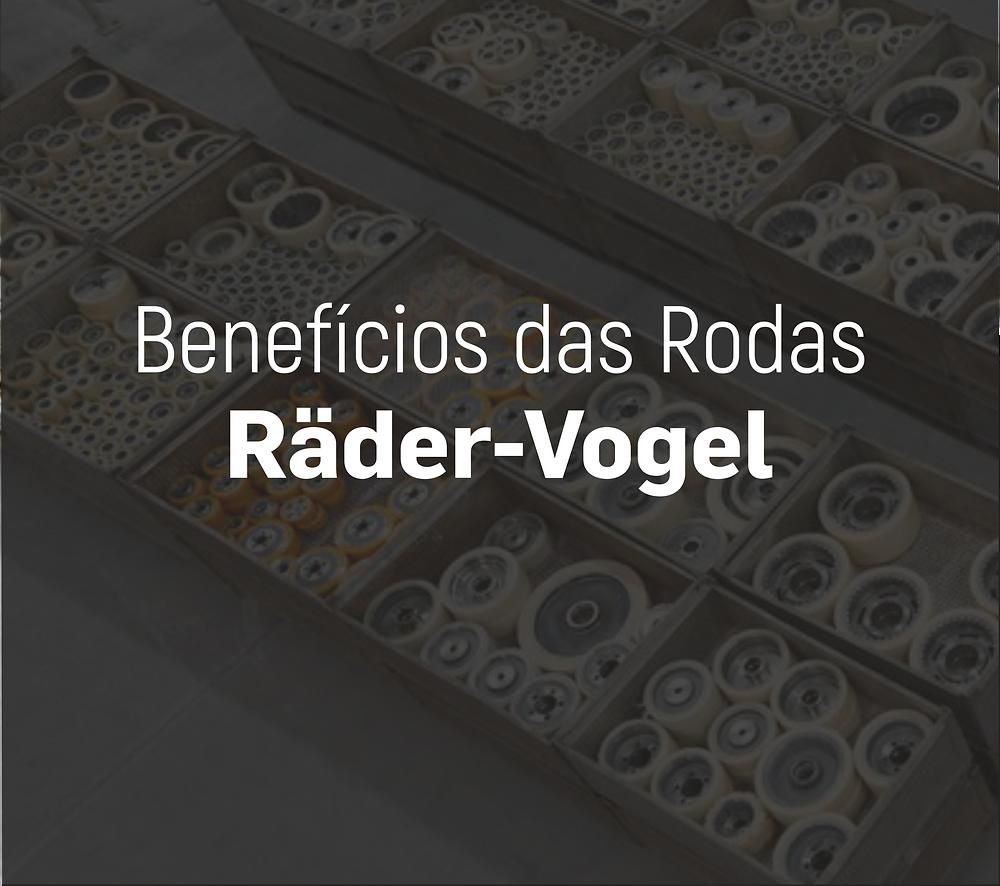 Benefícios das rodas Räder-Vogel - Empilhadeiras Catarinense
