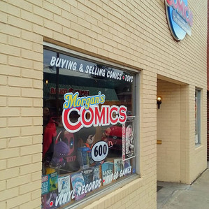 Welcome to the Nerd Sanctuary! a look inside Morgan's Comics