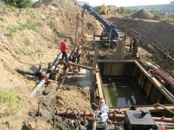 Водопонижение грунтовых вод