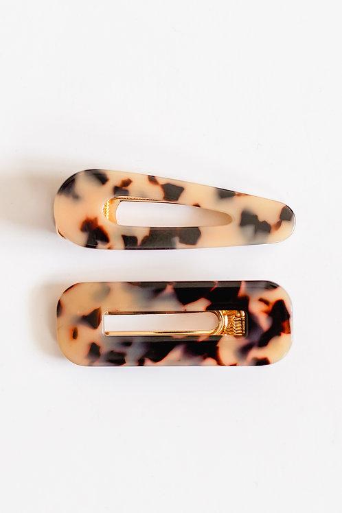 Leopard Clip Set