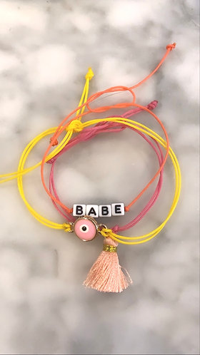 BABE BRACELET STACK