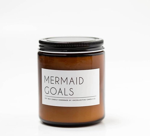 MERMAID GOALS CANDLE