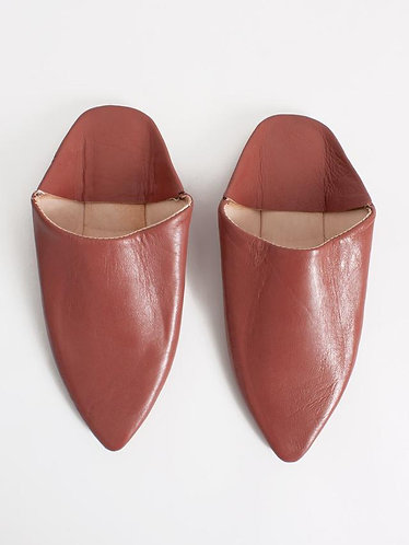 MOROCCAN CLASSIC BABOUCHE SLIDES