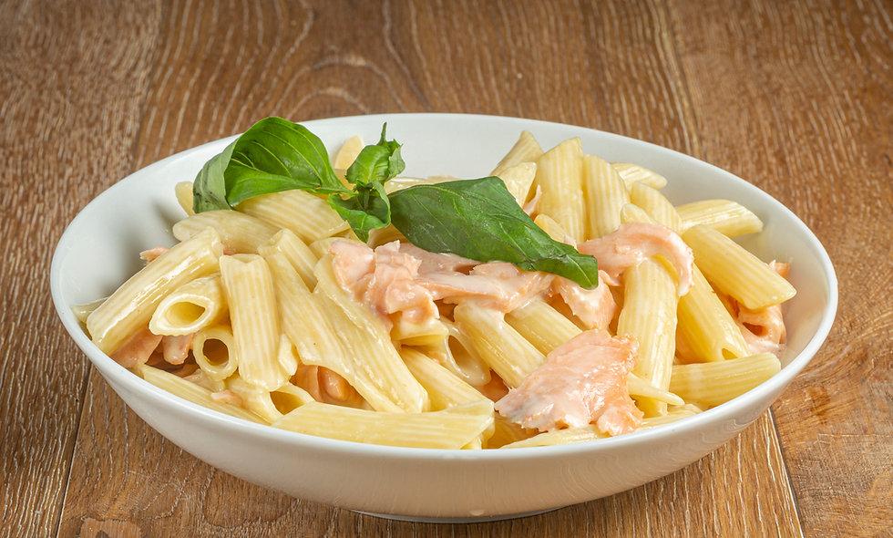 Spaghetti/Penne au saumon fumé