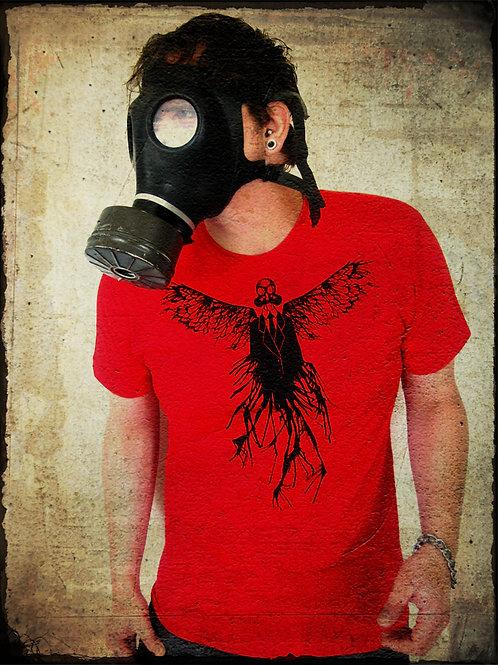 Gas Mask Angel T-shirt