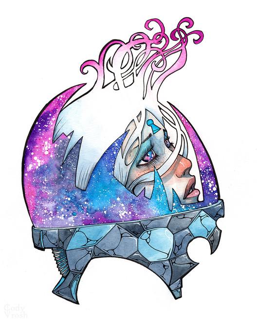 Cody Vrosh Art Starry Eyed