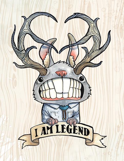 Cody Vrosh Teeth Creatures Legendary Horned Rabbit