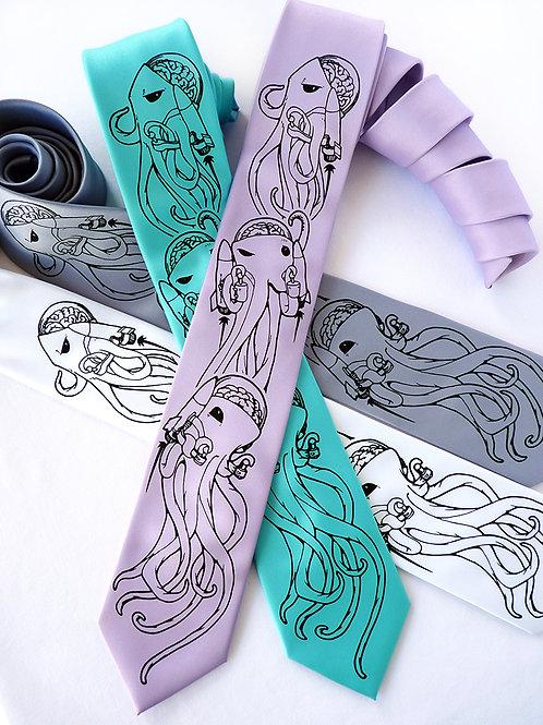 Cosmoctopi Necktie