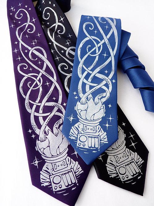 Depths of Space Necktie