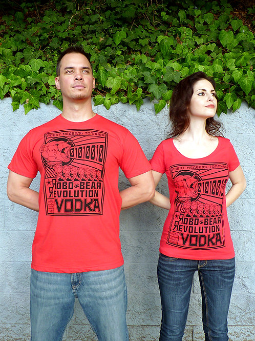 Robo Bear Revolution Vodka T-shirt Set