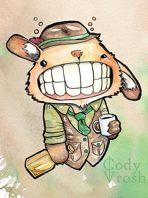 Irish Hare with Irish Coffee