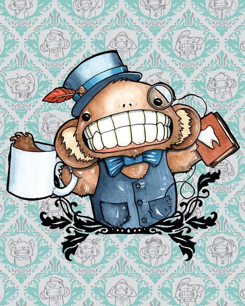 Cody Vrosh Teeth Creatures Professor Teeth