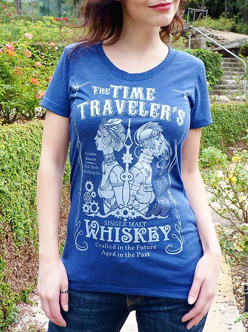 Time Traveler's Whiskey Women's T-shirt