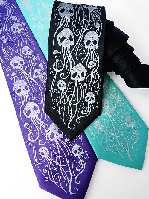 Skellyfish Necktie