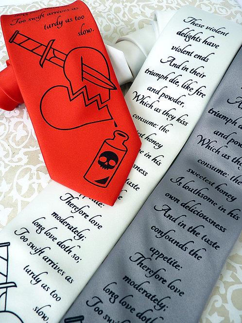 Romeo and Juliet Necktie