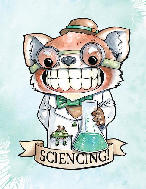Cody Vrosh Teeth Creatures Sciencing Red Panda