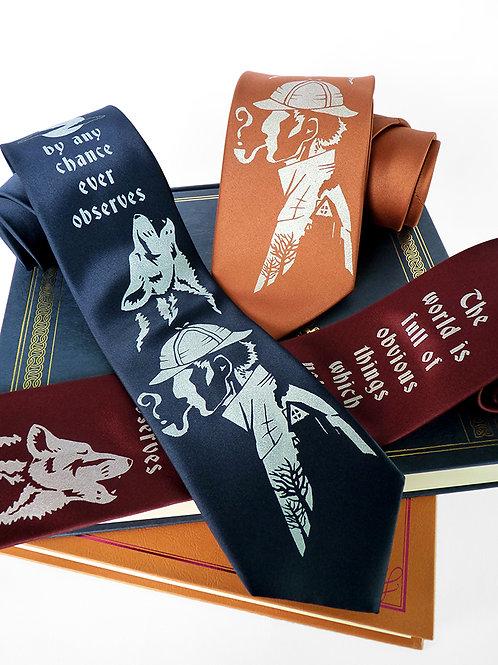 Sherlock Holmes Necktie