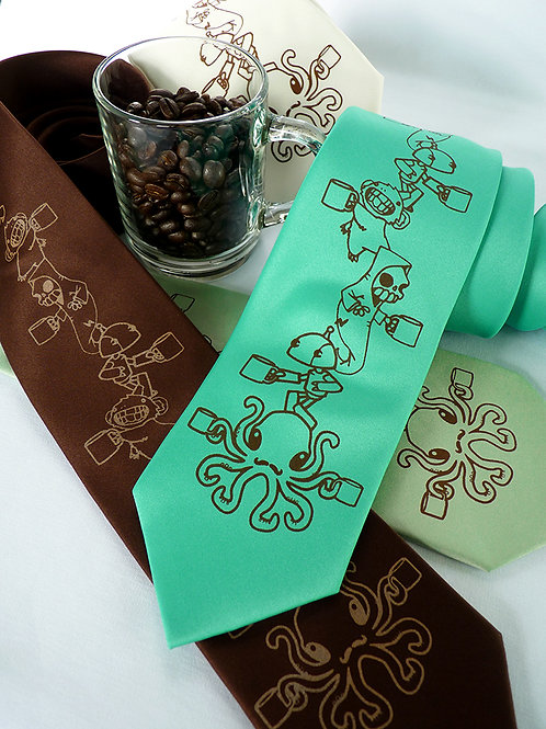 Coffee Creatures Necktie