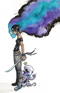 Pirate Girl and Squid King