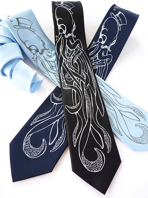 An Octopus and A Gentleman Necktie