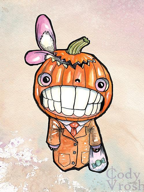 Jack Rabbit O' Lantern