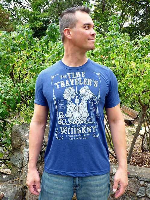 Time Traveler's Whiskey T-shirt