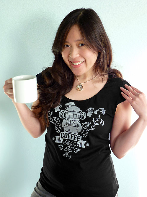 Coffee Makes Me Fancy T-shirt