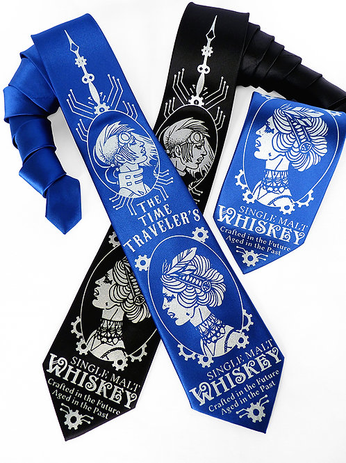 Time Traveler's Whiskey Necktie