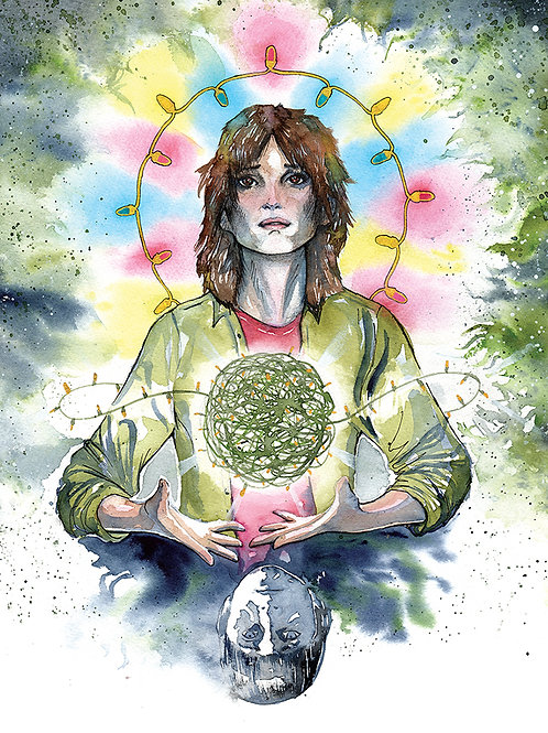 Stranger Things Saint Joyce of Hawkins (Officially Licensed Ltd. Edition Print)