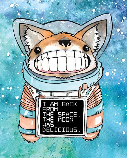 Cody Vrosh Teeth Creatures Space Corgi