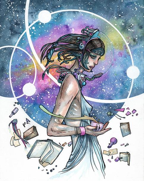Cody Vrosh Art Tea By Starlight