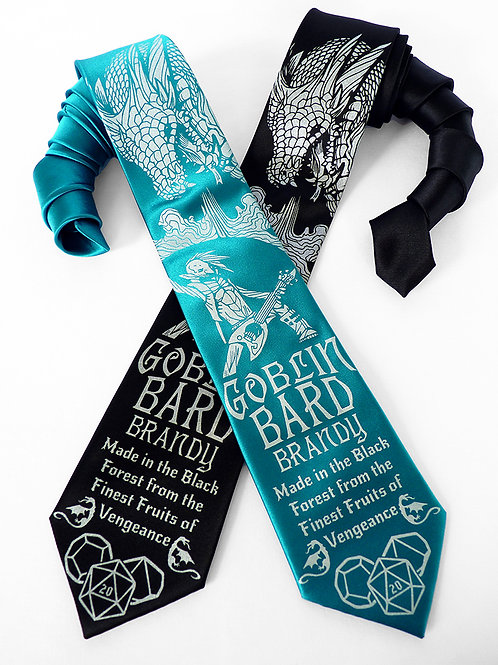 Goblin Bard Brandy Necktie