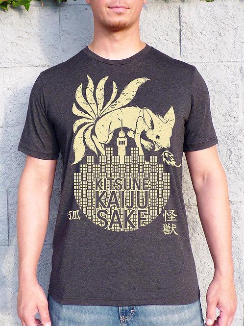 Kitsune Kaiju Sake T-shirt