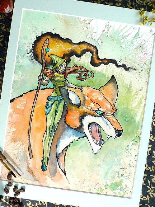 The Fox Witch