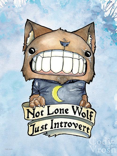 Introvert Wolf