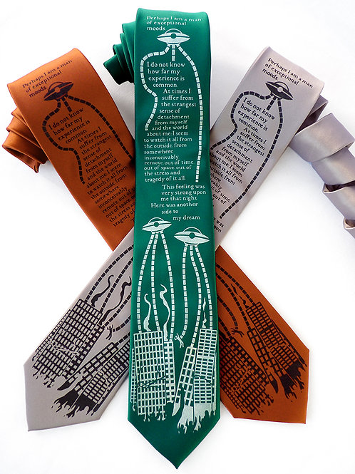 War of the Worlds Necktie