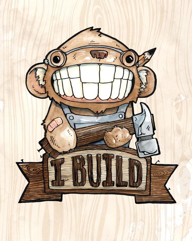 Cody Vrosh Teeth Creatures Buildy Beaver